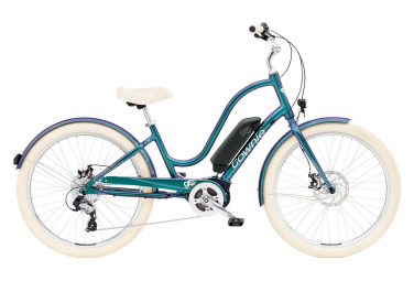 Electra Townie Go! 8D Womens E-Bike  Multi-couleur / Blanc