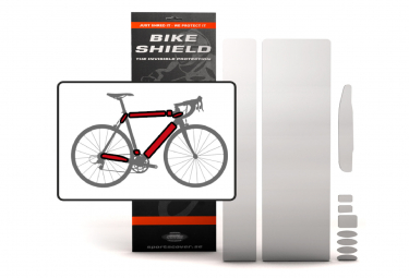 BIKESHIELD Frame Invisible Matte Protection FULLPACK