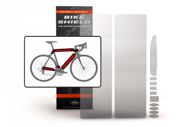 BIKESHIELD Frame Invisible Matte Protection OVERSIZED