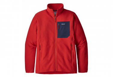 Patagonia R2 TechFace Jacket Fire