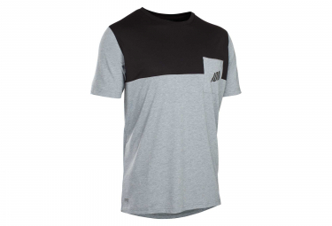 Image of Maillot manches courtes ion seek amp gris l