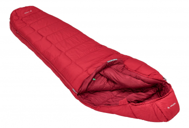 Vaude Sioux 1000 SYN Sleeping Bag Red