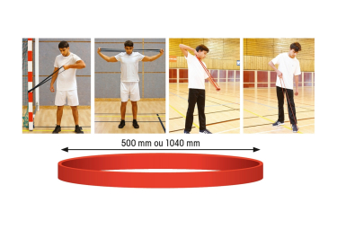 Tremblay Bande de résistance élastique Vert 20-55kg
