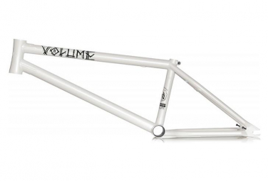 Volume Bikes BMX Frame War Horse White