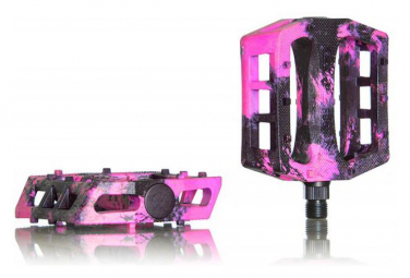 Demolition Pedals Trooper Pink Marble