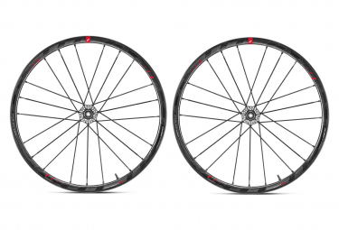 Paire de Roues Fulcrum Racing Zero Carbon Disc Tubeless | 15/12x100mm / 12x142mm | Corps Shimano/Sram 2019