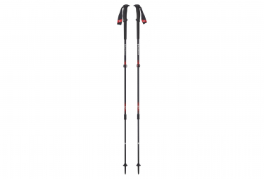 Black Diamond Trail Pro Poles Black Red
