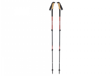 Black Diamond Trail Ergo Cork Pole Black red