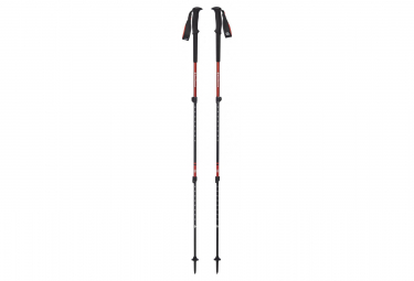 Black Diamond Batons de Randonnee Trail Black Red