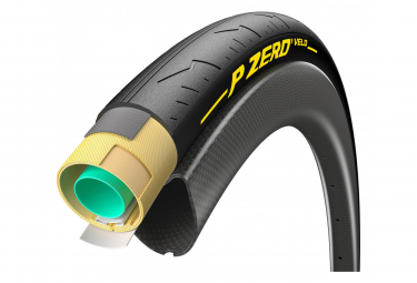 Boyau Route Pirelli P Zero Velo 700c Noir