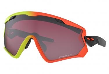 Oakley Sunglasses Wind Jacket 2.0 / Harmony Fade / Prizm Snow Noir Iridium / Ref : OO9418-0845