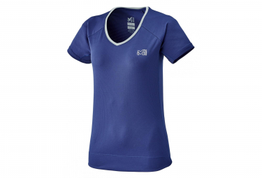 Millet Roc Women's Short Sleeves T-Shirt Blue