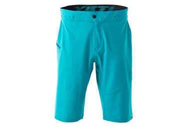 Yeti Mason MTB Shorts No Liner Turquoise