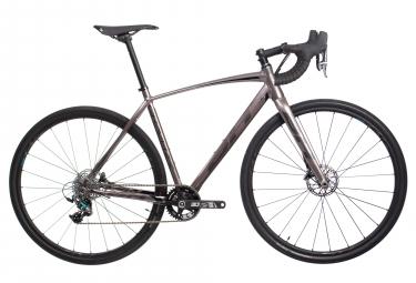 Bicicleta de grava BH Gravel X Alu 2.5 Sram Force X1 11V Gris Negro 2019