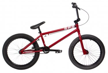 Superstar Complete BMX Bike Halley Rot 20.3 Rot