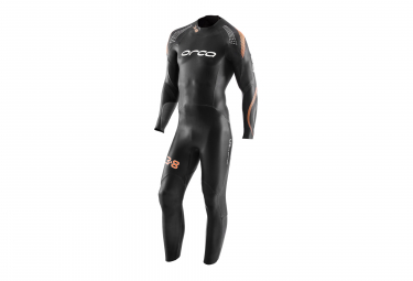 ORCA 3.8 Wetsuit Black Orange