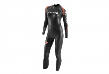 Orca 3 8 Women S Wetsuit Black Orange M