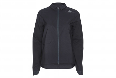 Poc Paris Women Windbreaker Jacket Navy Blue
