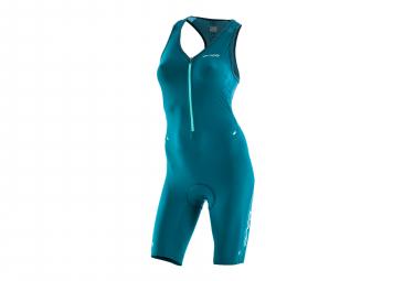 Combinaison Trifonction sans manche Femme ORCA 226 Perform Race Bleu