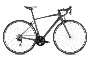 Cube Axial WS GTC Pro Road Bike Shimano 105 11S 2019 Grey Purple