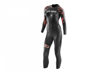 ORCA S7 Women's Wetsuit Black Orange