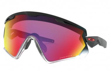 Oakley sunglasses wind jacket 2 0 prizm road black fade prizm road ref oo9418 1745