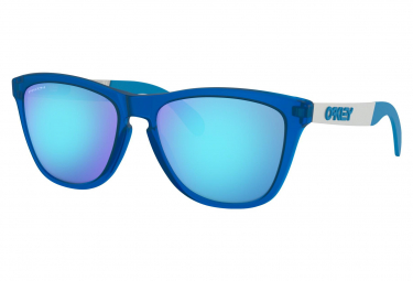 Oakley Sunglasses Frogskins Mix Matte Translucent Sapphire / Prizm Sapphire / Ref. OO9428-0355