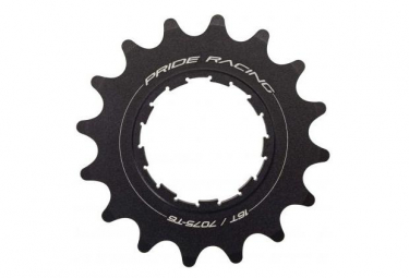 Pride Racing Spiral Cog Black