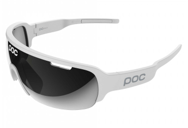 Poc Do Half Blade Glasses Hydrogen White   Violet Silver Mirror