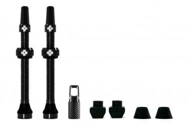 Valves Tubeless Muc-Off Aluminium 60 mm Noir