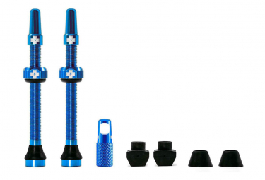 Muc-Off Tubeless Valves 60mm Aluminium Blue