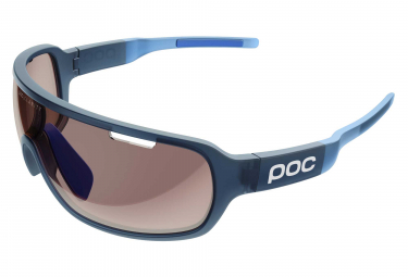 Poc DO Blade Glasses Lead Blue Translucent Furfural Blue / Brown Light Silver Mirror