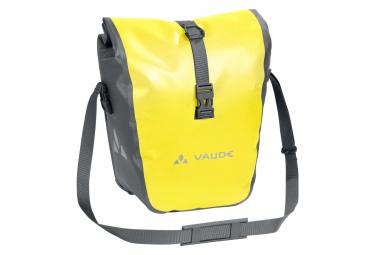 Image of Paire de sacoches avant vaude aqua front jaune