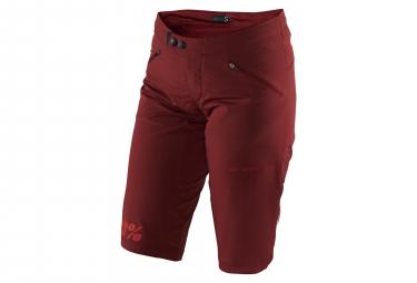 100% Airmatic Shorts Brick