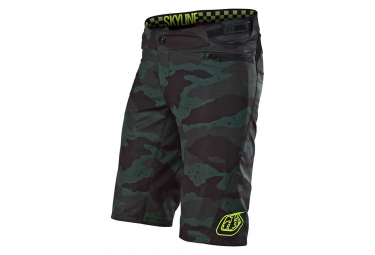 Troy Lee Designs Skyline Women MTB Shorts With Liner Camo