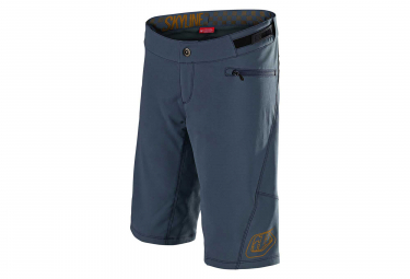 Troy Lee Designs Skyline Women MTB Shorts With Liner Slate Blue