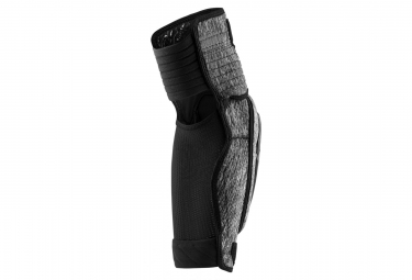 100% Fortis Elbow Guard Grey Heather/Black