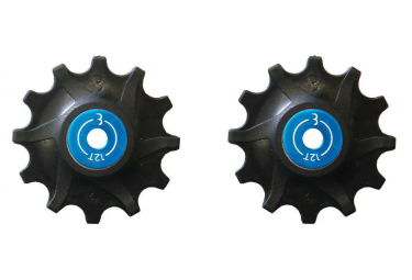 BBB RollerBoys 12T Sram Narrow-Wide Jockey Wheels Black