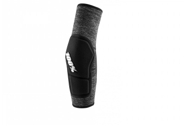100% Ridecamp Elbow Guard Grey Heather/Black