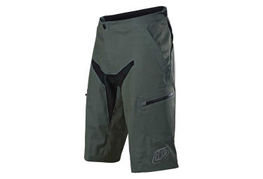 Troy Lee Designs Moto MTB Shorts No Liner Fatigue Camo Green