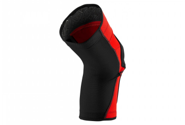 100% Ridecamp Knee Guard Red/Black
