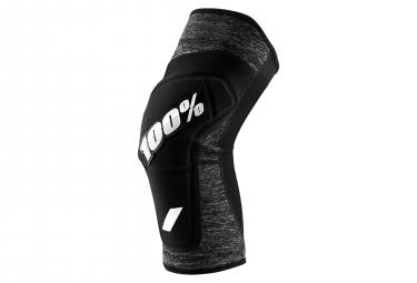 100% Ridecamp Knee Guard Grey Heather/Black