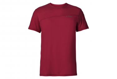 Vaude Sveit Tee Shirt Red