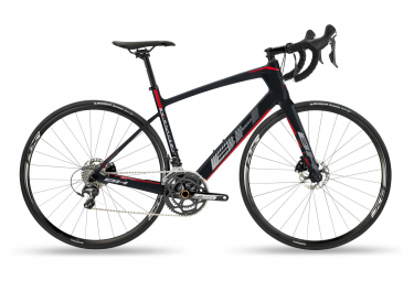 BH Quartz Disc 3.0 Road Bike Shimano 105 11sp Black / Red 2019