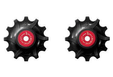 BBB RollerBoys 12S Jockey Wheels Ceramic Bearing Sram Narrow-Wide Black