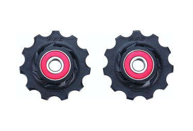 BBB RollerBoys Ceramic Bearing Jockey Wheels 11S Black