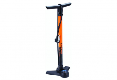 BBB AirBoost Floor Pump Orange
