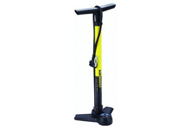 BBB AirBoost Floor Pump Yellow