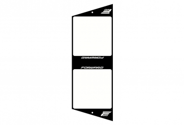 Forward Number Plate XL Black