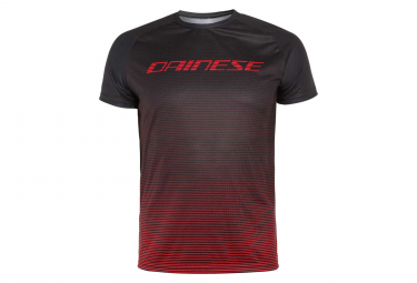 Dainese HG 3 Short Sleeves Jersey Black Stretch Limo Red